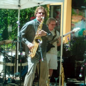 "Andrew Vogt and ZARO play a high energy set at ""A Fort Collins Jazz Experience"" on July 11th, 2009"